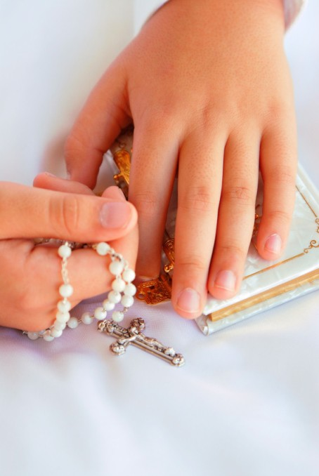 first communion hands
